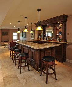 Definitely having a bar as well in my home. Preferably in the basement.