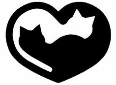 Ideas For Cats Tattoo Silhouette Kitty Crazy Cat Lady, Crazy Cats, Cat Quilt, Cat Crafts, Cat Tattoo, Tiny Tattoo, Cat Drawing, Pyrography, Cat Art