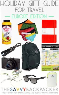 Holiday Gift Guide for Travelers — Europe Edition — The Best Gadgets & Travel Accessories Us Travel Destinations, Family Vacation Destinations, Family Vacations, Cruise Vacation, Best Travel Gadgets, Cool Gadgets, Studio Calico, Holiday Gift Guide, Holiday Gifts