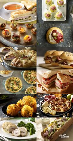 On the twelfth day of Deli, Di Lusso sent to me: ♬♩ Twelve Philly Cheesesteaks ♬♩ Eleven Cordon Bleu Rolls ♬♩ Ten Beef Crostinis ♬♩ Nine Crispy Cheese Balls ♬♩ Eight Muffalettas ♬♩ Seven Mini Quiches ♬♩ Six Roast Beef Sliders ♬♩ FIVE STROMBOLI RINGS ♬♩ Four Pastrami Rolls ♬♩ Three Tartelettes ♬♩ Two Deviled Eggs and a Turkey Pesto Cheese Panini. ♬