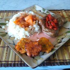 My own cooking- Puertorican food :)