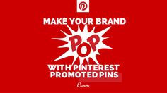 @Canva has a wonderful blog with oh so many design tips and helpful social media blog posts. Be sure to read their article on Make Your Brand Pop With Pinterest Promoted Pins. Enjoy.