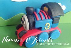 CAKE CLUB   THOMAS CAKE TOPPER TUTORIAL