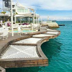 """Maldives? Nope!  This is in Movenpick Resort, Mactan, Cebu!  @biyahenibathy unwinds with the view!  #cebu #mactan #igerscebu #movenpick #pilipinas…"""