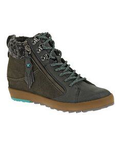 891e18de22b776 Black Boho Leather Sneaker atZulily.com Comfortable Shoes