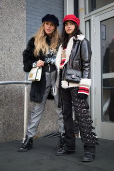 f85087ab471 The Best Street Style At New York Fashion Week AW18