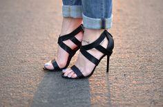 charles jordan strappy  sandals  heels by ...love Maegan, via Flickr