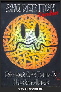 Street art tour Shoreditch London #streetartlondon