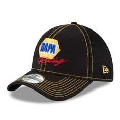 Show your support for NAPA Racing driver #ChaseElliott with this New Era black team neo 39THIRTY hat.