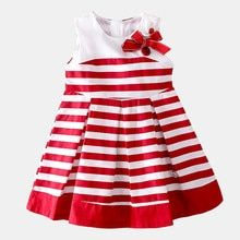 Shybobbi Fashion Girl Dress Striped Bow Cotton Girls Clothes Party Casual Cute B. Pretty Little Dress, Little Dresses, Nice Dresses, Girls Dresses, Fashion Kids, Girl Fashion, Dress Fashion, Kids Dress Wear, Baby Dress