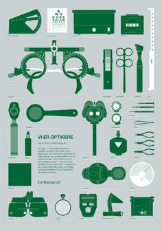 Brilleland by Commando Group , via Behance