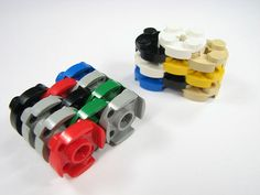 Different ways to stack legos for easier storage and building