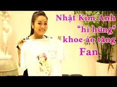 """Nhật Kim Anh """"hí hửng"""" Khoe Áo Tặng Fan"""