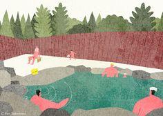 http://ryotakemasa.com/ Open-Air Bath, Nagano