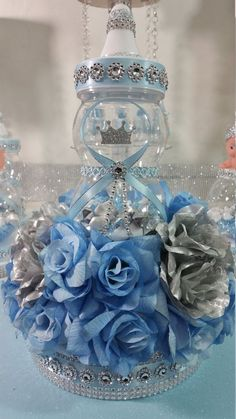 Royal Baby Shower Centerpiece For Royal by PlatinumDiaperCakes