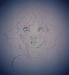 Major WIP. Uuhhhgg I tried sort of realism with this elf girl majig. I'll finish it later. How does it look?
