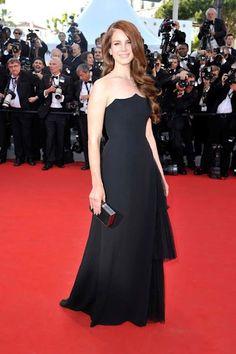 Lana Del Rey in Alberta Ferretti - 2012 Cannes Film Festival