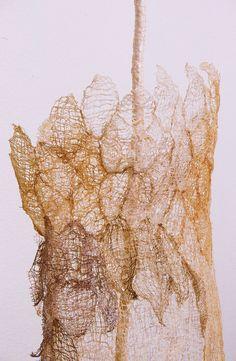 Ethereal Messenger detail fixed Leisa Rich Textiles Sketchbook, Gel Medium, Plant Fibres, Textile Fiber Art, Recycled Fabric, Natural Texture, Installation Art, Art Blog, Collage Art