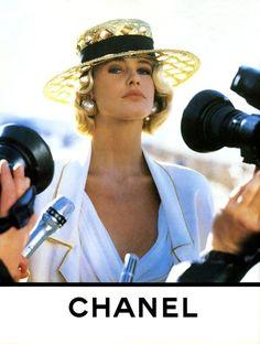 Chanel S/S 1990 Model : Claudia Schiffer by shmessa
