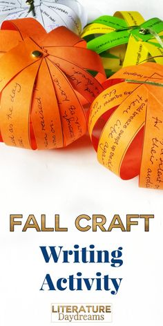 This blogpost and video contains EVERYTHING you need to create these gorgeous fall pumpkin decorations in your writing classroom. Just print the FREE prompts and follow the simple steps to create this beautiful seasonal display!