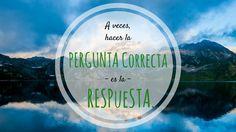 ¿Conoces las 50 Preguntas Mágicas que te Abren la Mente?  http://josemanuelsa.ibi3g.com/PIPB32 Estas preguntas no tienen respuestas correctas o erróneas , porque a veces hacer la pregunta correcta es la respuesta.