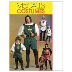 McCall's M5500- Patrón de costura para disfraces infantiles