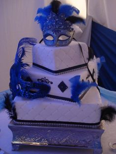 Image detail for -... 15 cake for a masquerade themed party. 6/20/09 in Cake Designs by
