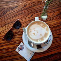 Moore Coffee Shop, Seattle, WA. Photo creds: insta @ schimiggy