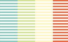 Spring Colors Horizontal Striped Free Digital Scrapbook Paper