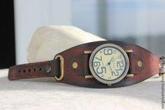Купить Часы наручные или ремешок для ваших часов - бордовый, часы наручные купить