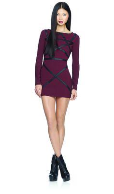 House of Dereon Long Sleeve Mini Dress - Black - F12-1049, House of Dereon, Prom dresses, Prom Dress, Evening wear
