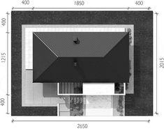 Rzut projektu HomeKoncept-38 House Design, Nice, Top, Houses, Facades, Architecture Illustrations, Nice France, House Plans, Home Design