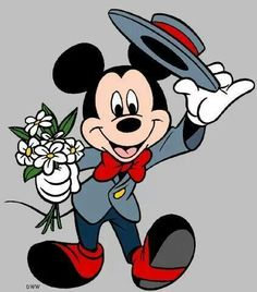 Mickey Mouse via Images Inaire Facebook page