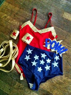 Wonder Woman Goes to EDC.  This past summer I... | Fancy Made