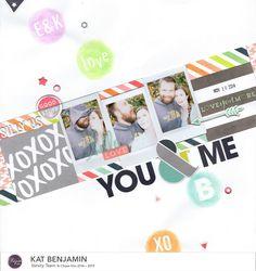 you & me (clique kits) || HappyGRL - Scrapbook.com