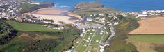 Porth Beach - Newquay holiday park | Campsite
