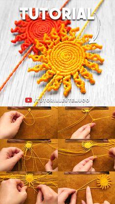 Macrame Bracelet Patterns, Macrame Bracelets, Micro Macrame Tutorial, Macrame Projects, Macrame Knots, Fabric Jewelry, Tapestry Weaving, Bracelet Tutorial, Crochet Crafts