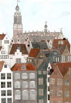 the view in amsterdam, by anisa makhoul