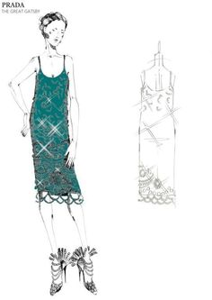 The Great Gatsby (2013)   Miuccia Prada's design in collaboration with Catherine Martin for Baz Luhrmann's stylized film adaptation.