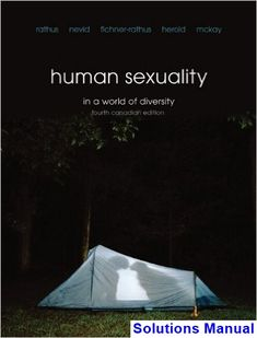 Solution manual of fundamentals of physics textbook 10th edition solutions manual for human sexuality in a world of diversity fourth canadian canadian 4th edition by fandeluxe Gallery
