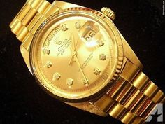 Rolex Day Date President Champagne
