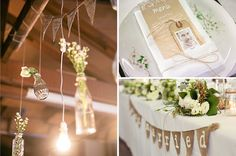 Love the neutral colourings, add some mint and or peach for a burst of colour, and of course the JARS! Our Wedding Day, Wedding Reception, Wedding Venues, Dream Wedding, Wedding Stuff, Wedding Venue Inspiration, Wedding Ideas, Just Married Sign, Byron Bay Weddings