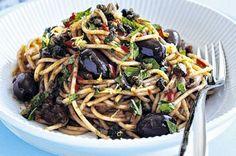 Spaghetti alla puttanesca by Matt Preston - Member recipe - Taste.com.au