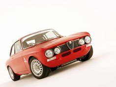 1960's Alfa Romeo 1750 GTA-R...I could see this granny cruising in this.