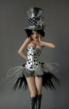 "by Nicole West - I just love this ""bad girl"" doll!"