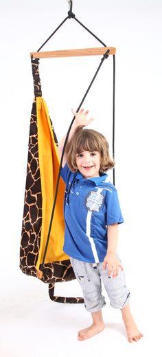 AMAZONAS Hang Mini Giraffe #kids #hangingchair #safari #swing