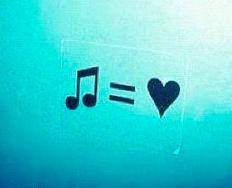 I love music tattoo idea.