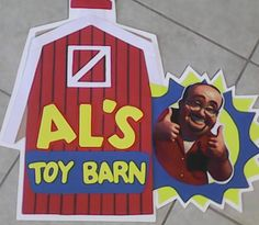 al's toy barn party sign, toy story by Tat2mama3 on Etsy
