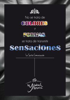 No se trata de colores y formas, se trata de transmitir #SENSACIONES. ¡Estupenda semana para tod@s! #moda