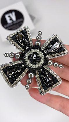 Statement Jewelry, Pearl Jewelry, Gold Jewelry, Beaded Jewelry, Unique Jewelry, Bead Embroidery Jewelry, Beaded Embroidery, Hand Embroidery, Mobiles